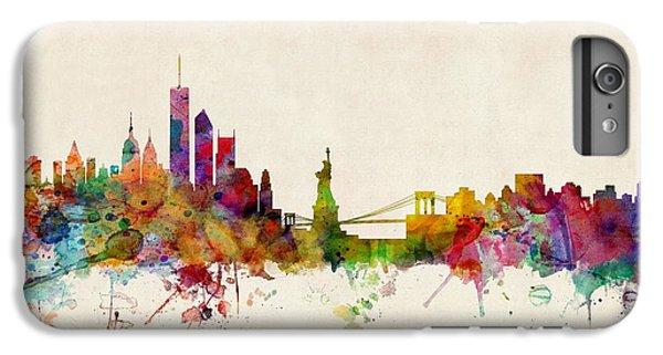 New York Skyline IPhone 6s Plus Case by Michael Tompsett