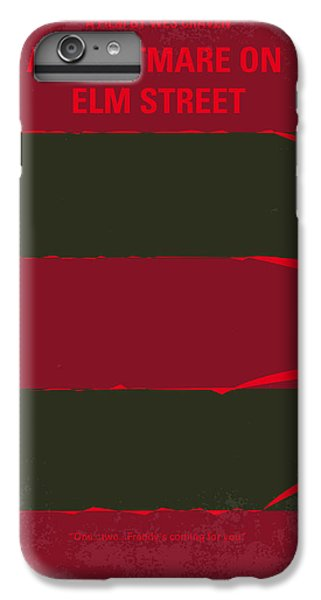 No265 My Nightmare On Elmstreet Minimal Movie Poster IPhone 6s Plus Case by Chungkong Art