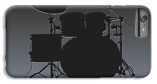 Oakland Raiders Drum Set IPhone 6s Plus Case by Joe Hamilton