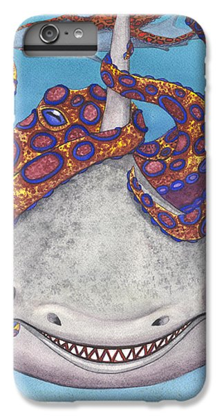 Octopied IPhone 6s Plus Case by Catherine G McElroy
