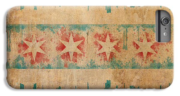 Old World Chicago Flag IPhone 6s Plus Case by Mike Maher