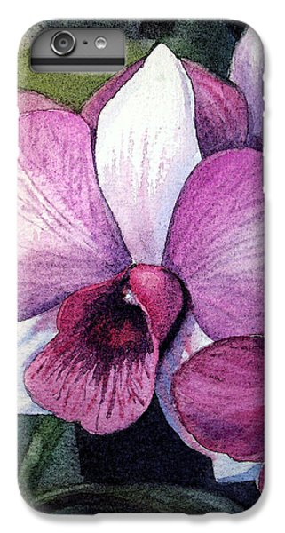 Orchid IPhone 6s Plus Case by Irina Sztukowski