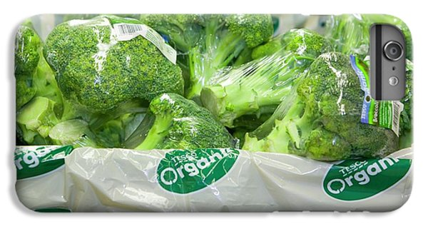 Organic Broccoli For Sale IPhone 6s Plus Case by Ashley Cooper