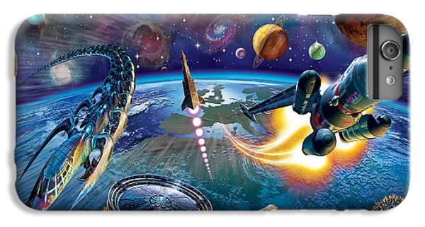 Outer Space IPhone 6s Plus Case by Adrian Chesterman