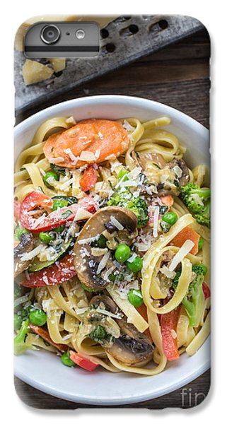 Pasta Primavera Dish IPhone 6s Plus Case by Edward Fielding