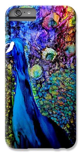 Peacock II IPhone 6s Plus Case by Karen Walker