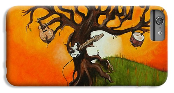 Pearl Jam Tree IPhone 6s Plus Case by Tarah Davis