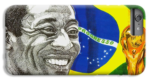 Pele IPhone 6s Plus Case by Cory Still