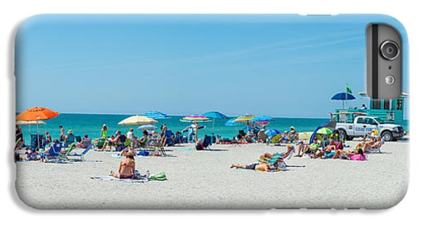 People On The Beach, Venice Beach, Gulf IPhone 6s Plus Case by Panoramic Images