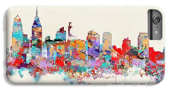 Philadelphia Skyline IPhone 6s Plus Case by Bri B