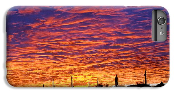Phoenix Sunrise IPhone 6s Plus Case by Jill Reger