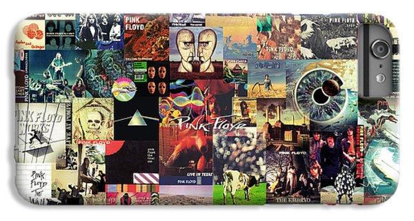 Pink Floyd Collage II IPhone 6s Plus Case by Taylan Soyturk