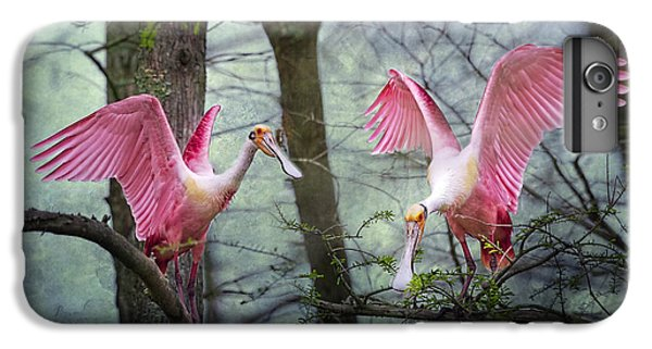 Pink Wings In The Swamp IPhone 6s Plus Case by Bonnie Barry