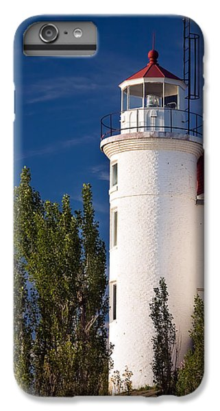 Point Betsie Lighthouse Michigan IPhone 6s Plus Case by Adam Romanowicz