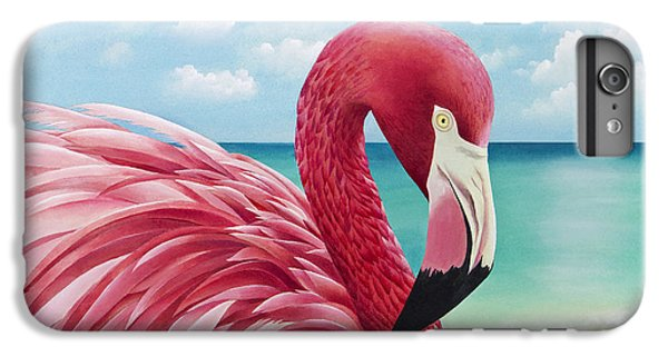 Pretty In Pink IPhone 6s Plus Case by Carolyn Steele