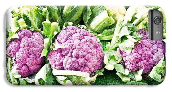 Purple Cauliflower IPhone 6s Plus Case by Tom Gowanlock