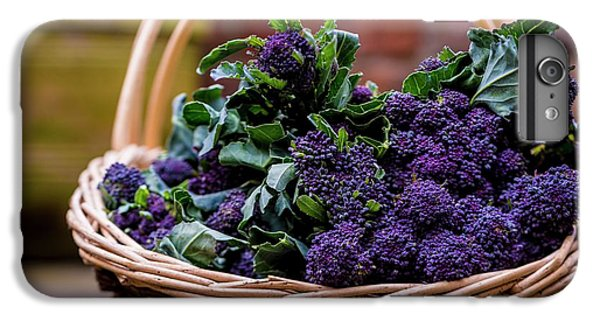 Purple Sprouting Broccoli IPhone 6s Plus Case by Aberration Films Ltd