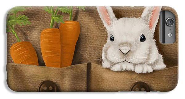 Rabbit Hole IPhone 6s Plus Case by Veronica Minozzi