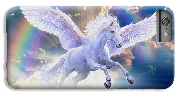 Rainbow Pegasus IPhone 6s Plus Case by Jan Patrik Krasny