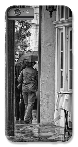 Rainy Day Lunch New Orleans IPhone 6s Plus Case by Kathleen K Parker
