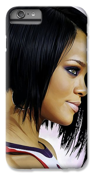 Rihanna Artwork IPhone 6s Plus Case by Sheraz A