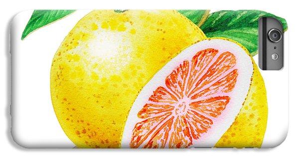 Ruby Red Grapefruit IPhone 6s Plus Case by Irina Sztukowski