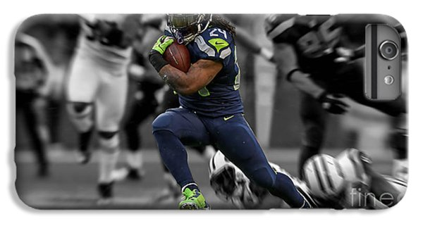 Russell Wilson IPhone 6s Plus Case by Marvin Blaine
