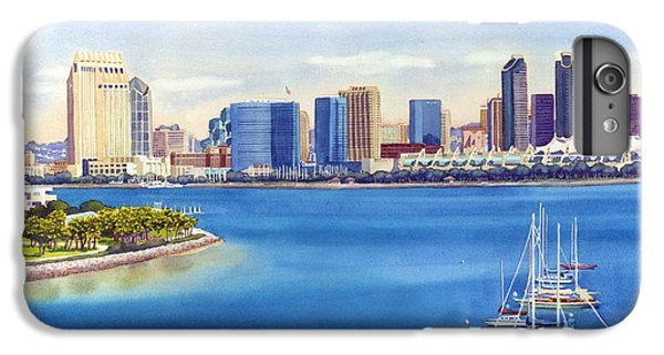 San Diego Skyline With Meridien IPhone 6s Plus Case by Mary Helmreich