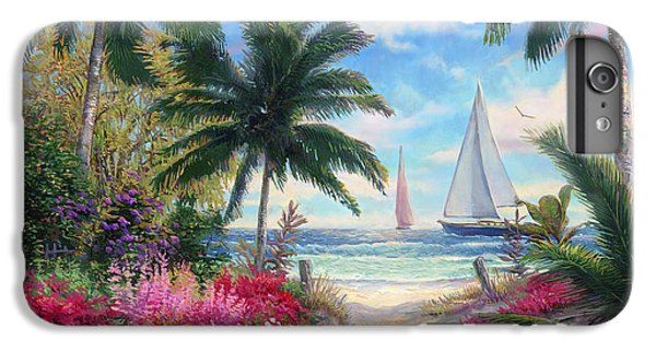 Sea Breeze Trail IPhone 6s Plus Case by Chuck Pinson