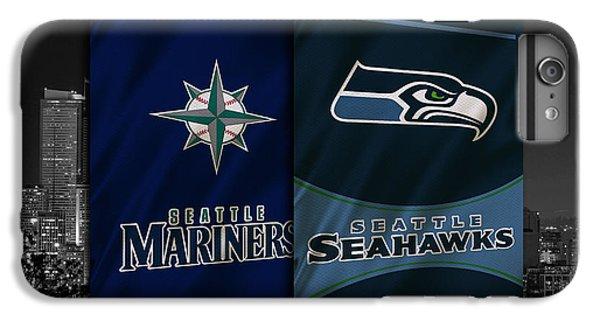 Seattle Sports Teams IPhone 6s Plus Case by Joe Hamilton
