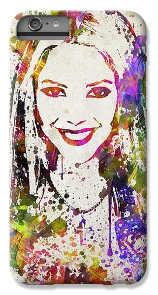 Shakira In Color IPhone 6s Plus Case by Aged Pixel