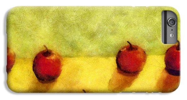 Six Apples IPhone 6s Plus Case by Michelle Calkins