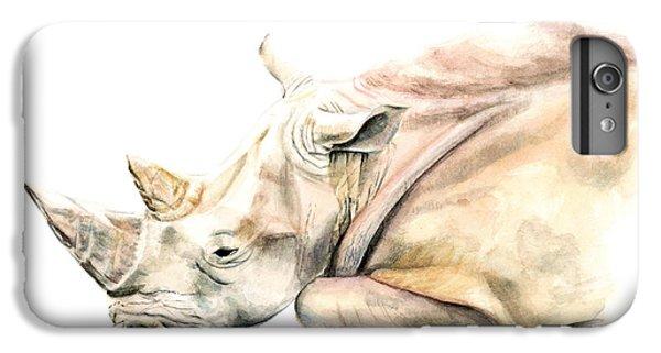 Small Colour Rhino IPhone 6s Plus Case by Elizabeth Lock
