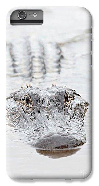 Sneaky Swamp Gator IPhone 6s Plus Case by Carol Groenen
