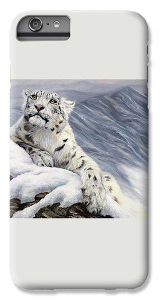 Snow Leopard IPhone 6s Plus Case by Lucie Bilodeau