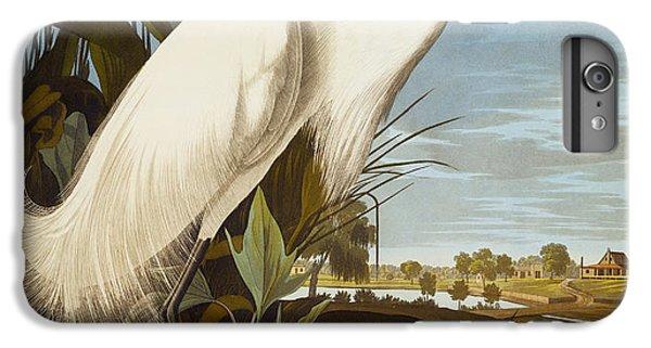 Snowy Heron Or White Egret IPhone 6s Plus Case by John James Audubon