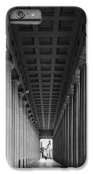 Soldier Field Colonnade Chicago B W B W IPhone 6s Plus Case by Steve Gadomski