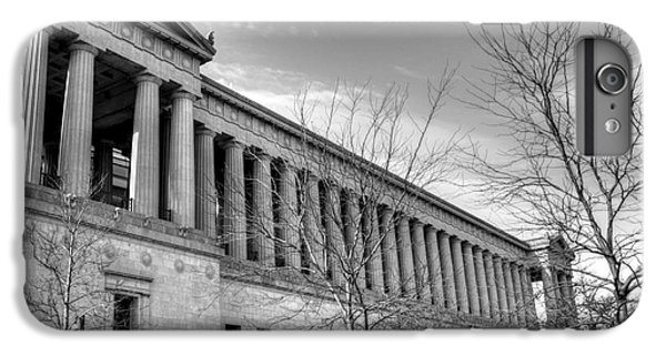 Soldier Field In Black And White IPhone 6s Plus Case by David Bearden