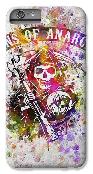 Sons Of Anarchy In Color IPhone 6s Plus Case by Aged Pixel