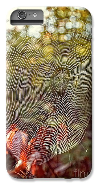 Spider Web IPhone 6s Plus Case by Edward Fielding
