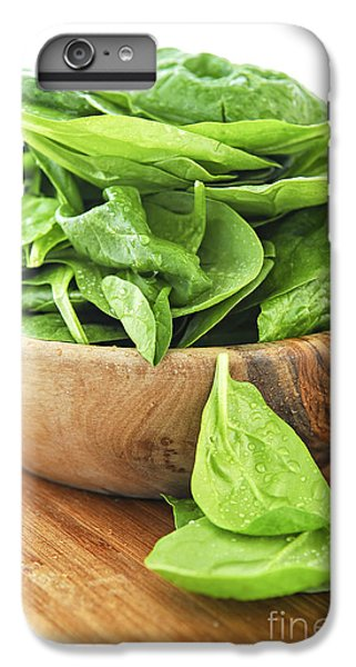 Spinach IPhone 6s Plus Case by Elena Elisseeva