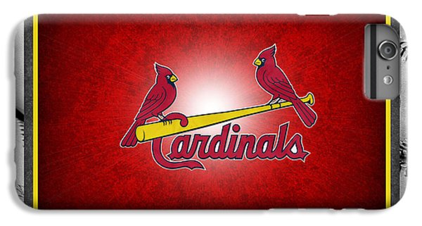 St Louis Cardinals IPhone 6s Plus Case by Joe Hamilton