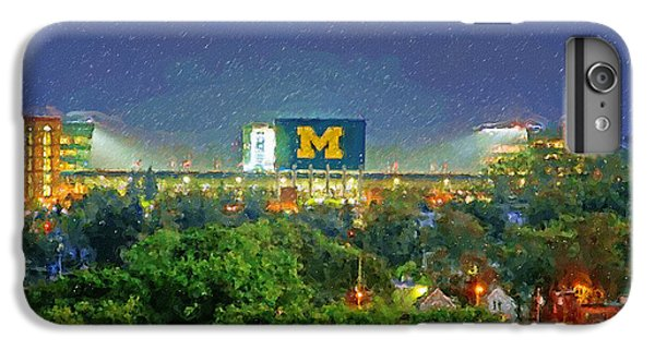 Stadium At Night IPhone 6s Plus Case by John Farr