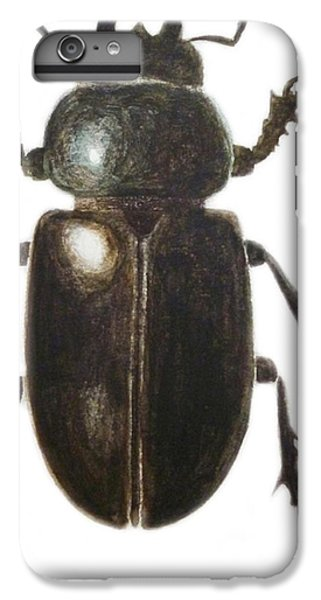 Stag Beetle IPhone 6s Plus Case by Ele Grafton