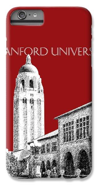 Stanford University - Dark Red IPhone 6s Plus Case by DB Artist