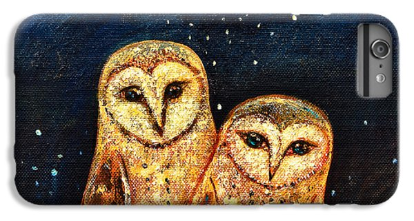 Starlight Owls IPhone 6s Plus Case by Shijun Munns