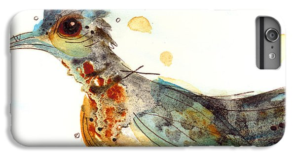 Stop And Smell What? IPhone 6s Plus Case by Dawn Derman