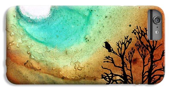 Summer Moon - Landscape Art By Sharon Cummings IPhone 6s Plus Case by Sharon Cummings