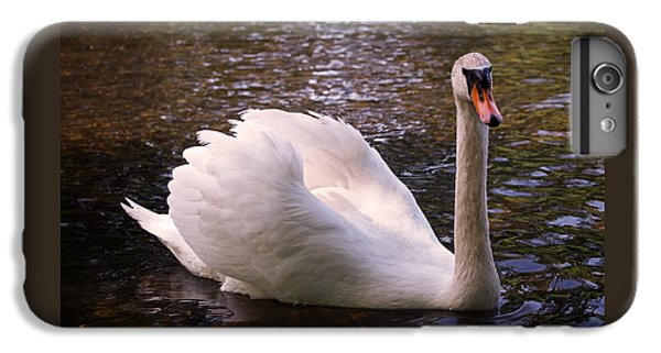 Swan Pose IPhone 6s Plus Case by Rona Black