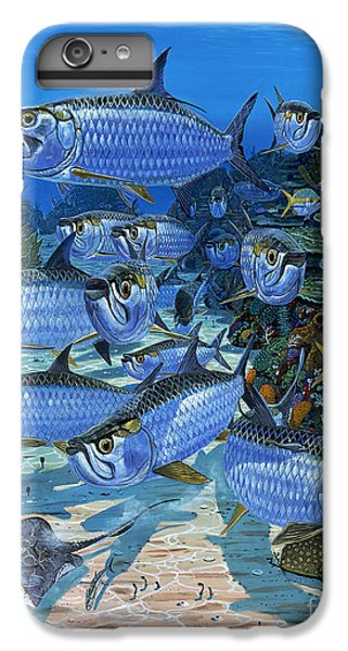Tarpon Alley In0019 IPhone 6s Plus Case by Carey Chen